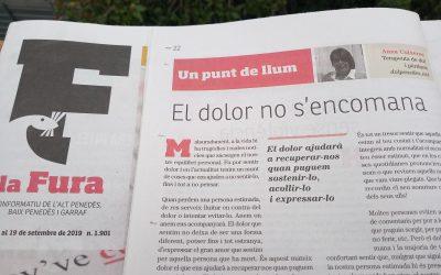 EL DOLOR NO S'ENCOMANA